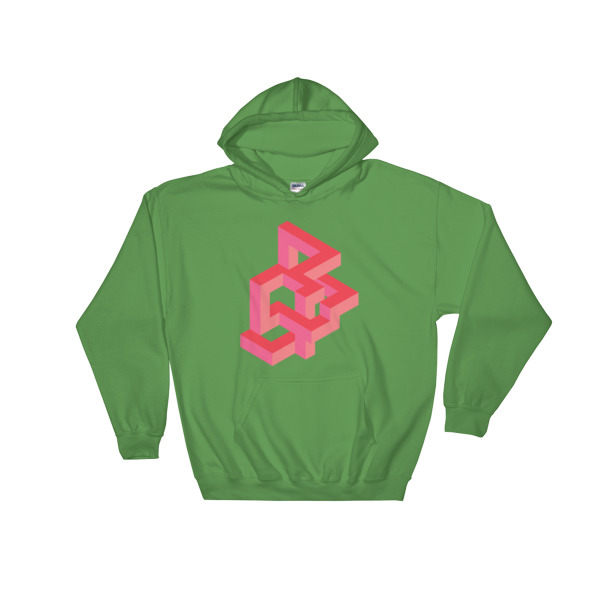 Abstract - Hooded Sweatshirt 1