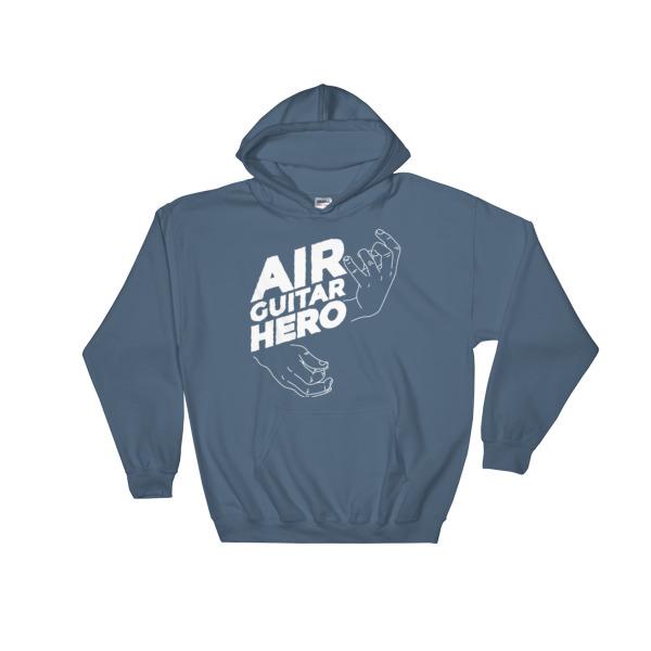 Air Guitar Hero – Hooded Sweatshirt