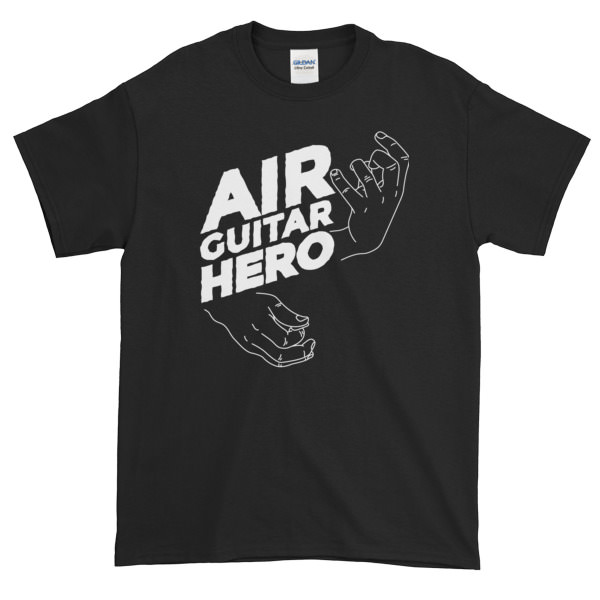 Air Guitar Hero – Mens Tee
