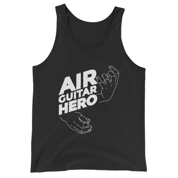 Air Guitar Hero – Unisex Tank Top