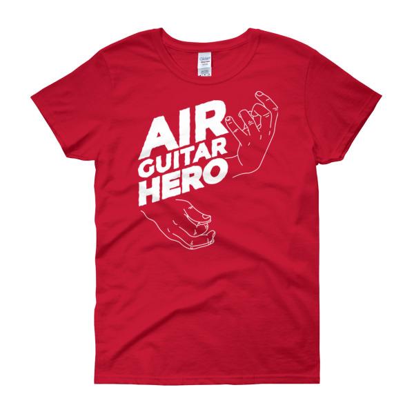 Air Guitar Hero – Women's Tee