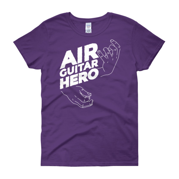 Air Guitar Hero – Women's Tee