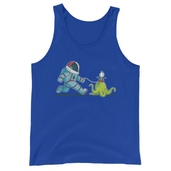 Alien Walkies – Unisex Tank Top