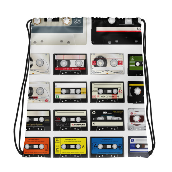 Cassettes – Drawstring bag