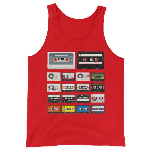Cassettes – Unisex Tank Top