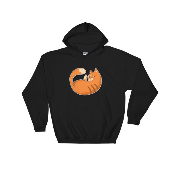Cat Zap – Hooded Sweatshirt