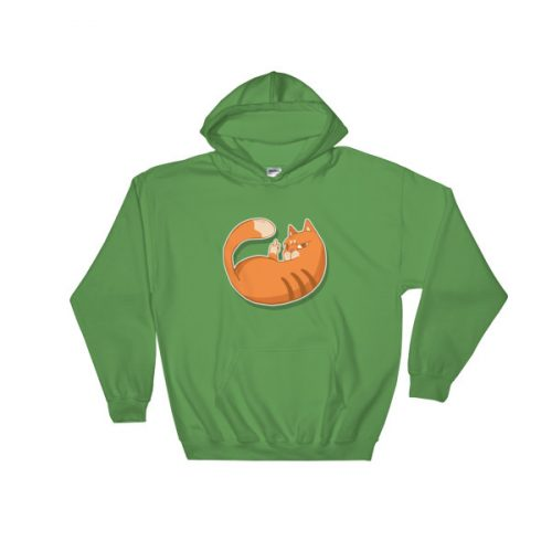 Cat Zap – Hooded Sweatshirt