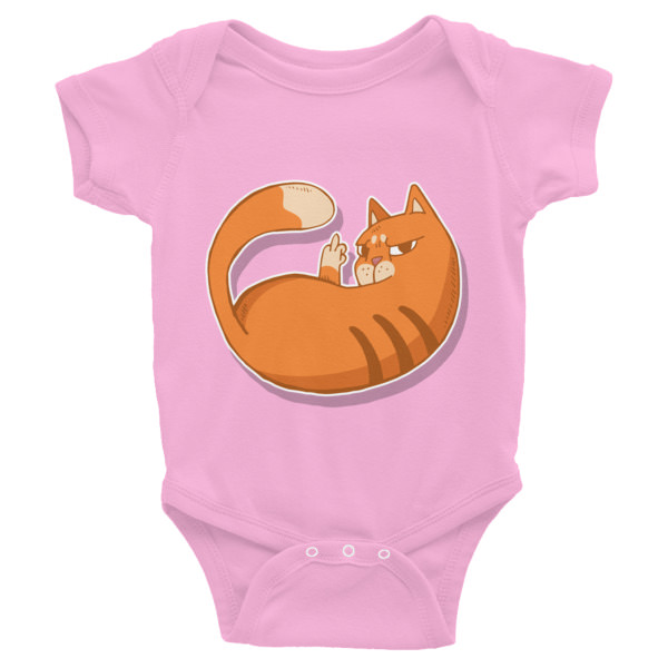 Cat Zap – Infant Bodysuit