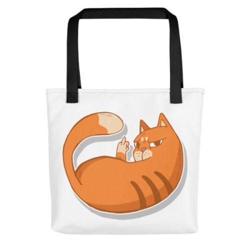 Cat Zap – Tote bag