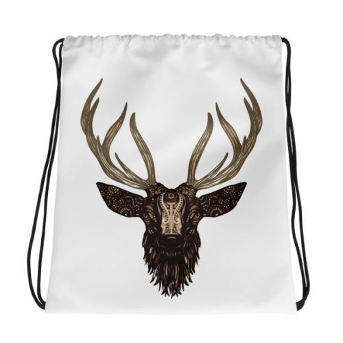 Deer – Drawstring bag