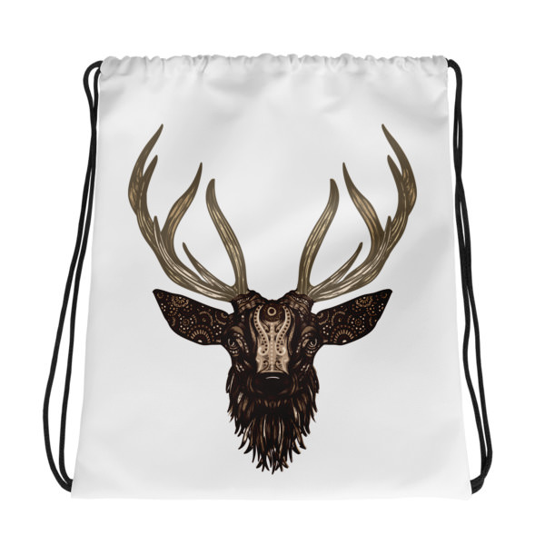 Deer – Drawstring bag