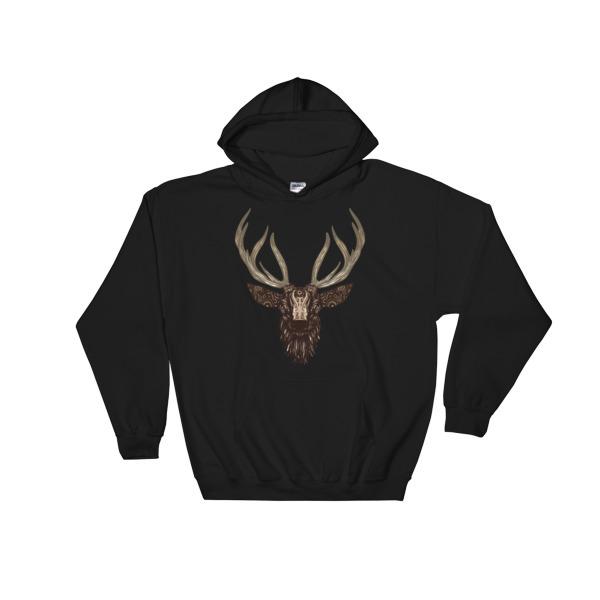 `Deer – Hooded Sweatshirt