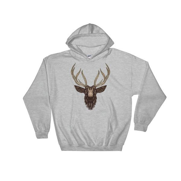 `Deer - Hooded Sweatshirt 2