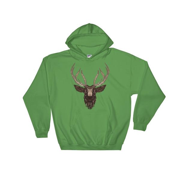 `Deer - Hooded Sweatshirt 3