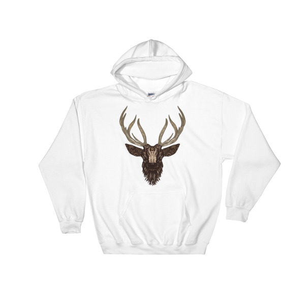 `Deer – Hooded Sweatshirt