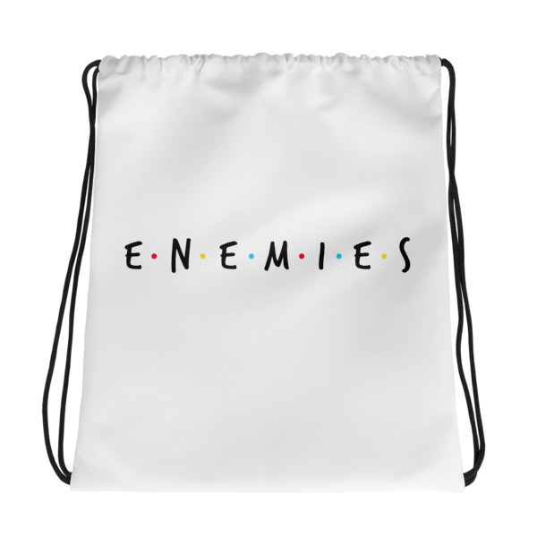 Enemies – Drawstring bag