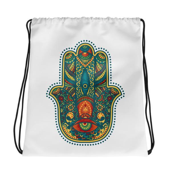 Hamsa – Drawstring bag