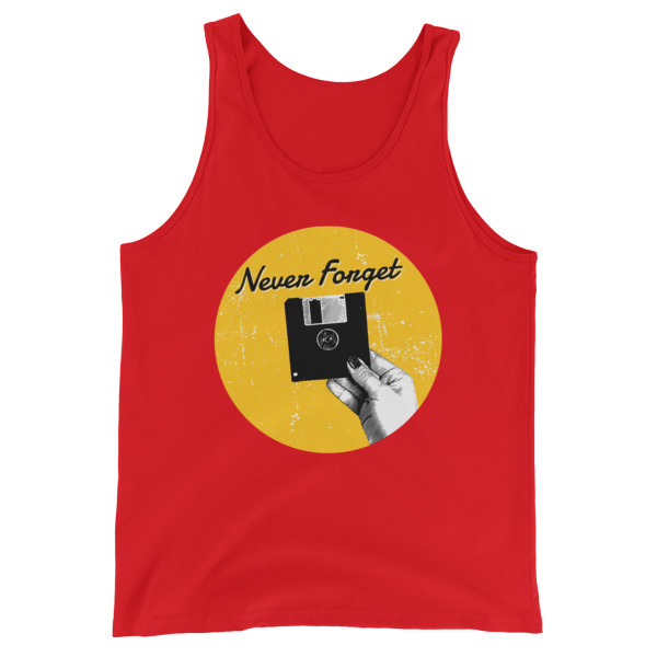 Never Forget – Unisex Tank Top