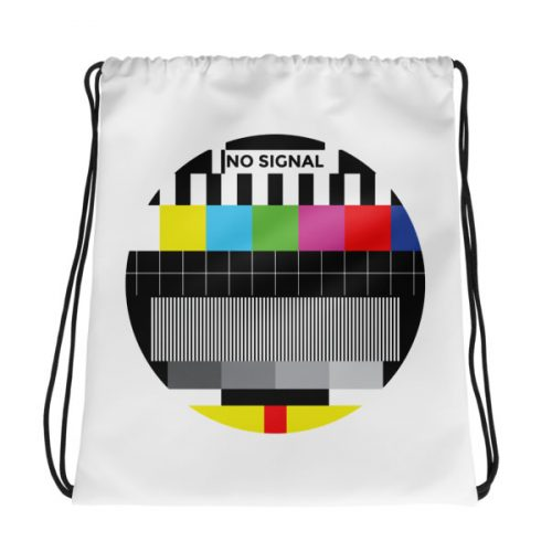No Signal – Drawstring bag