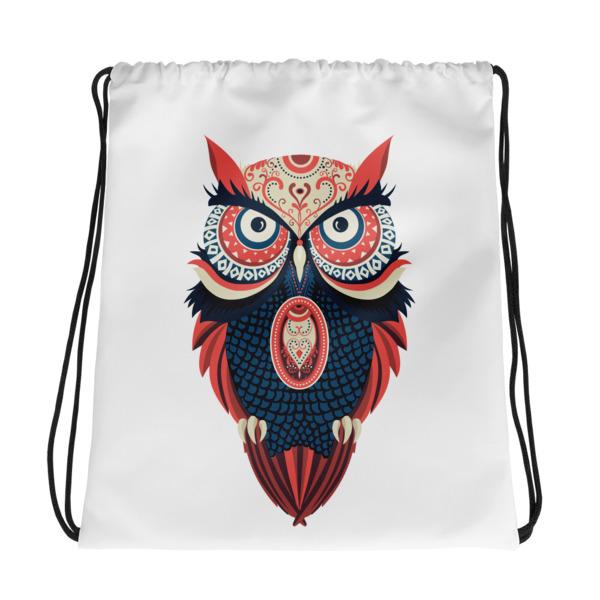 Owl – Drawstring bag