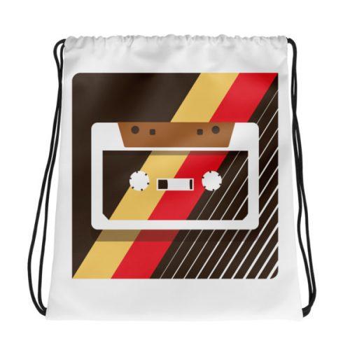 Retro Tape – Drawstring bag
