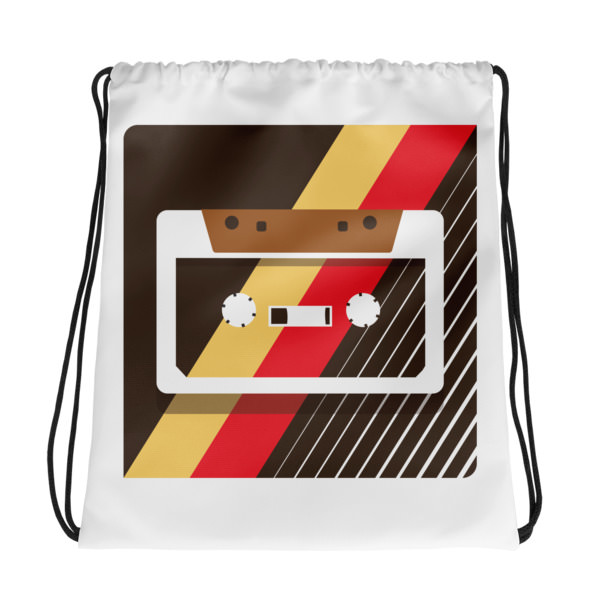 Retro Tape – Drawstring bag