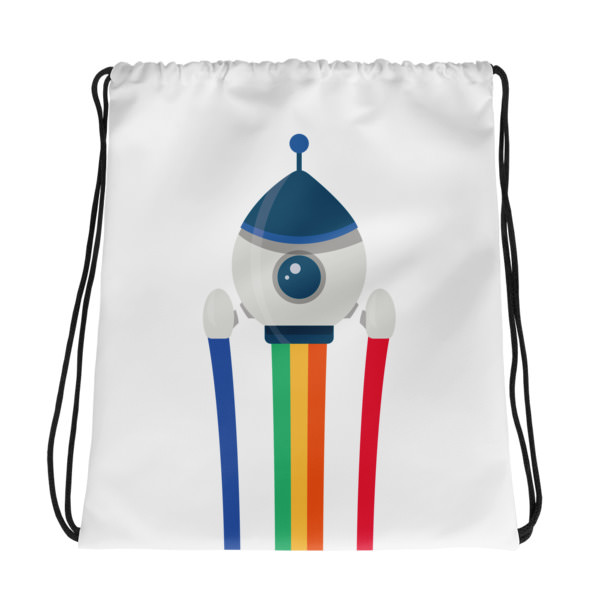 Rocket – Drawstring bag