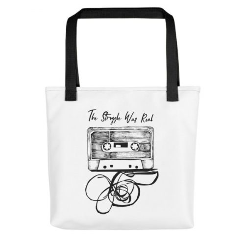 The Struggle was Real – Tote bag