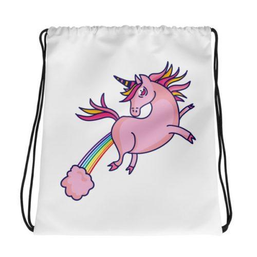 Unicorn Farts – Drawstring bag