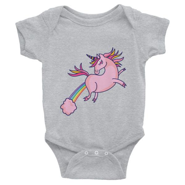 Unicorn Farts – Infant Bodysuit