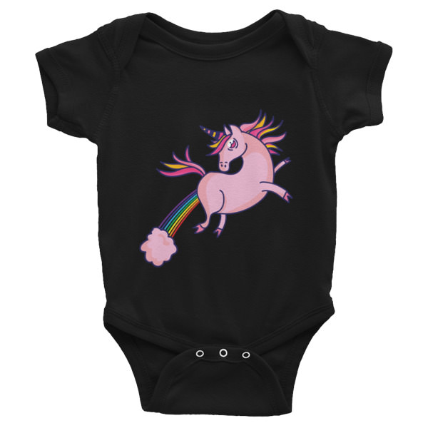Unicorn Farts – Infant Bodysuit