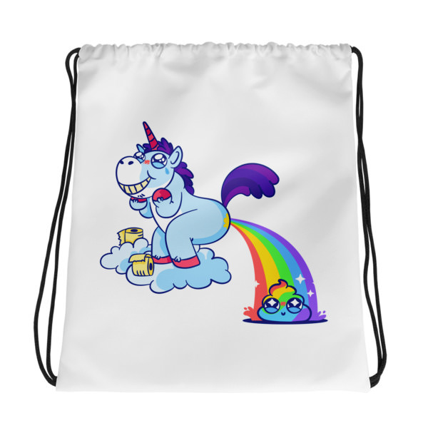 Unicorn Poop – Drawstring bag