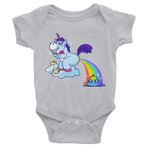 Unicorn Poop – Infant Bodysuit