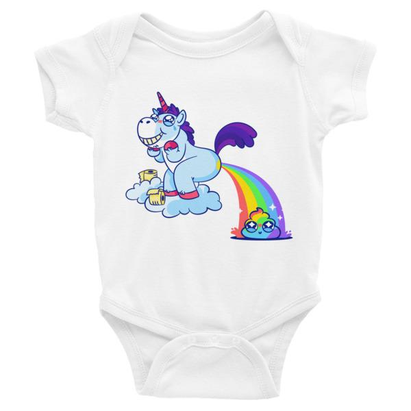 Unicorn Poop – Infant Bodysuit