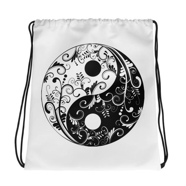 Yin Yang – Drawstring bag