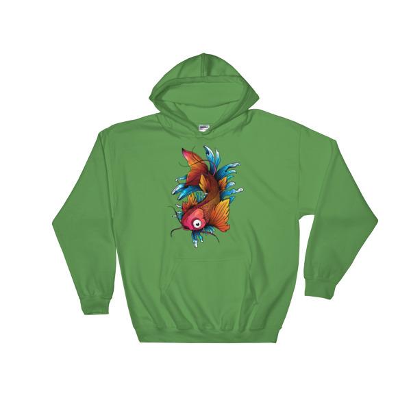 Koi Fish - Hooded Sweatshirt 1