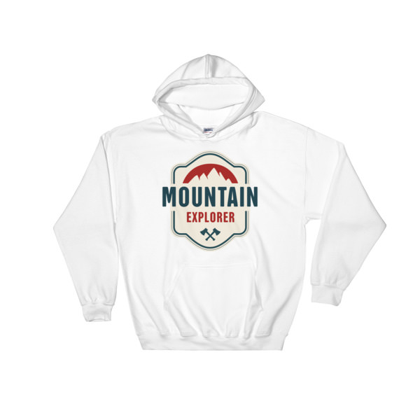 Mountain Explorer – Hooded Sweatshirt