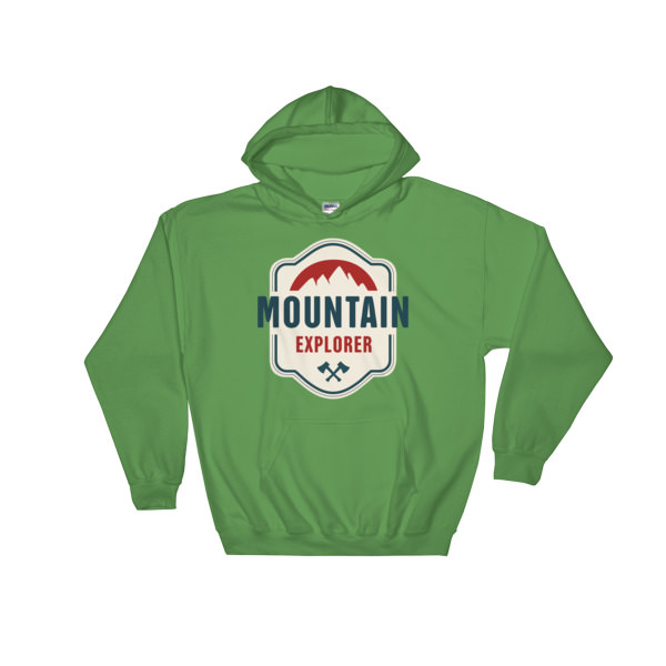 Mountain Explorer – Hooded Sweatshirt