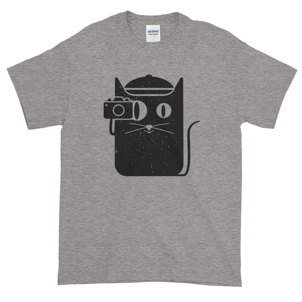 Camera Cat – Mens Tee