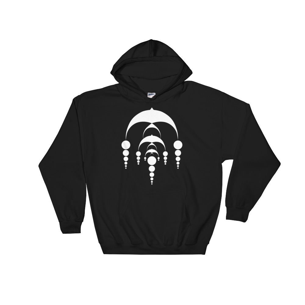 Fractals Bows – Hooded Sweatshirt