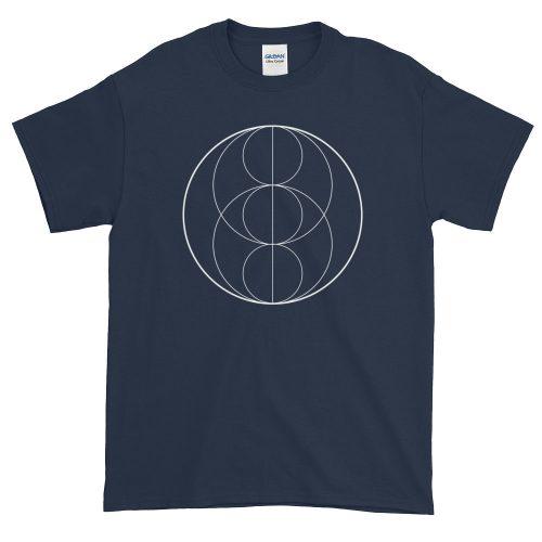 Fractals Circles – Mens Tee