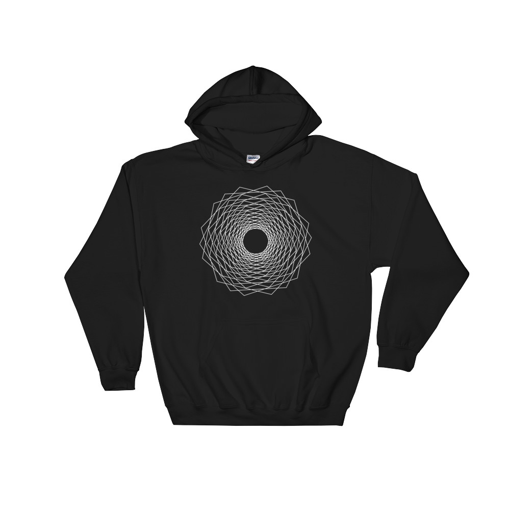 Fractals Eye – Hooded Sweatshirt