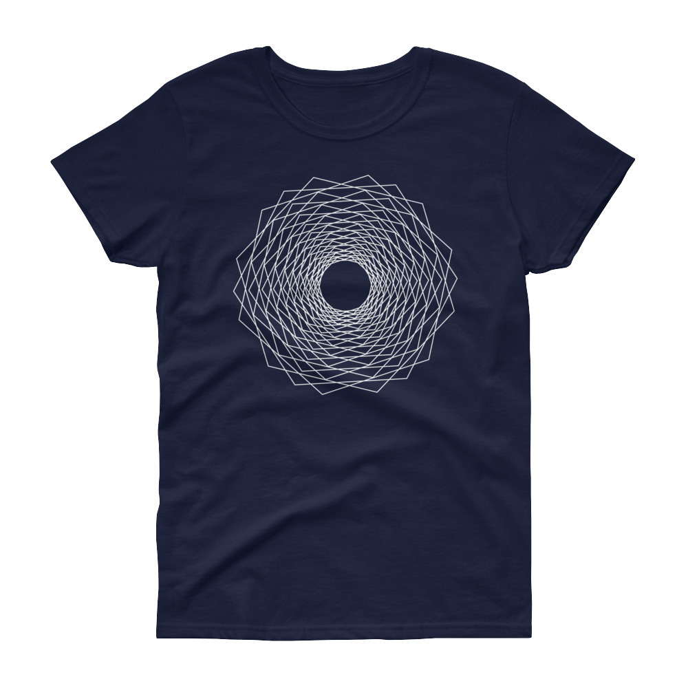 Fractals Eye – Women's Tee