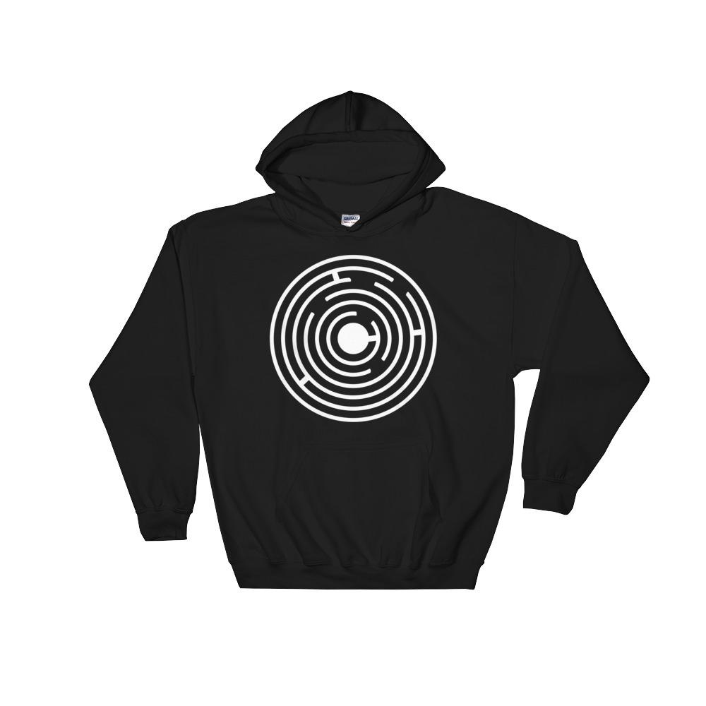 Fractals Maze – Hooded Sweatshirt