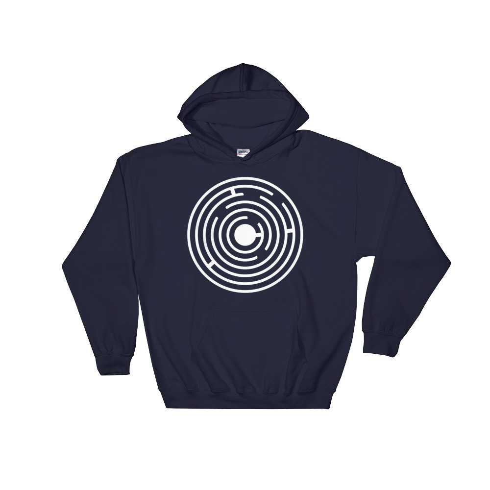 Fractals Maze – Hooded Sweatshirt