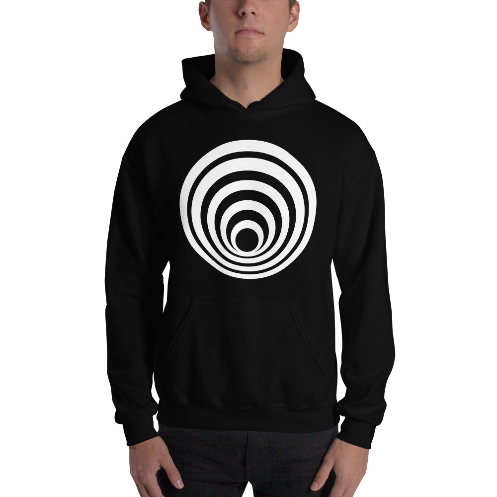 Fractals Tunnel – Hooded Sweatshirt