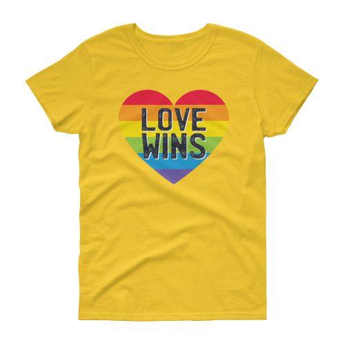 Love Wins – Women's Tee