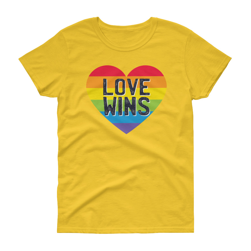 Love Wins – Women's Tee