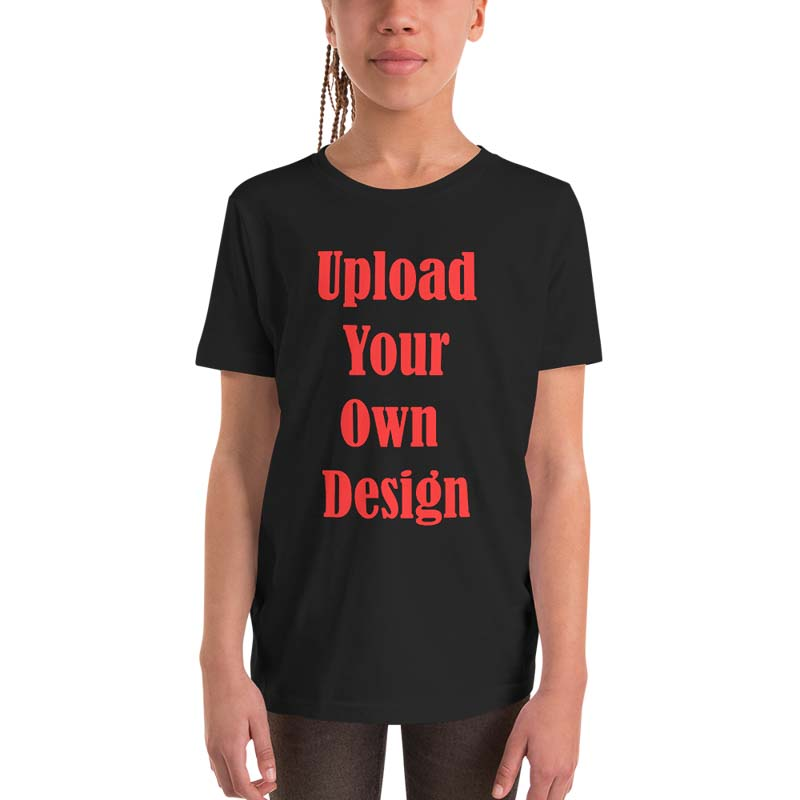 Custom Youth Short Sleeve Tee 5