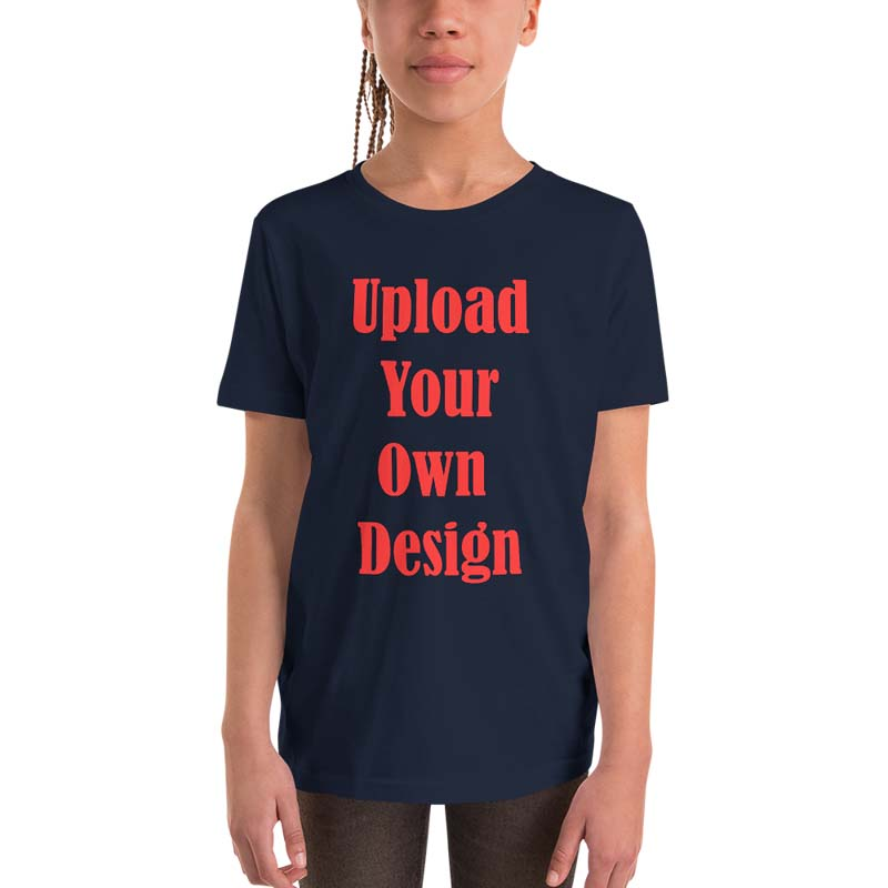 Custom Youth Short Sleeve Tee 4